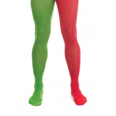 Elf Tights Green/Red