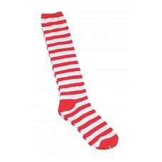 Clown Socks Red/White