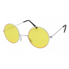 60s Style Glasses (Yellow)