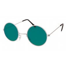 60s Style Glasses (Green)