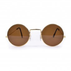 60s Style Sunglasses (Brown)
