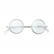 60s Style Glasses (Clear)