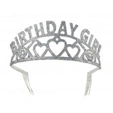 Birthday Girl Glitter Tiara