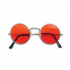 60s Style Glasses (Orange)