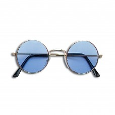 60s Style Glasses (Blue)