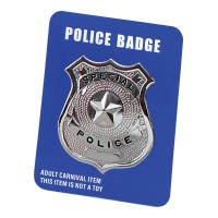 Police Badge Metal