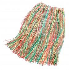 Coloured Grass Skirt (Adult)