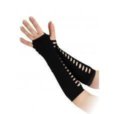 Black Ladder Style Gloves