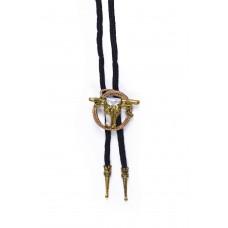 Cowboy Bootlace Tie Steer + Rope