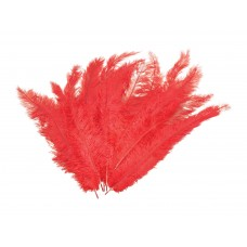 Red Blondine Feathers