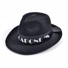 Al Capone  Felt Hat (Black)
