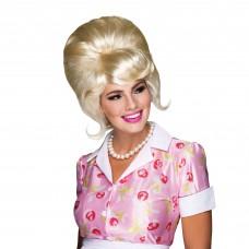 60s Beehive Blonde Wig