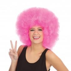 Afro Wig Mega Pink