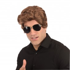 Brown Used Car Salesman Wig