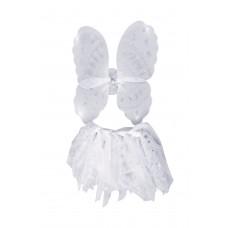 Angel Wings & Tutu Set