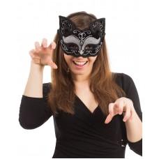 Black Cat Decorative Mask