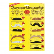 Assorted Colour Moustaches