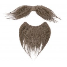 Beard + Tash Set Brown