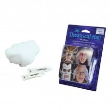 Theatrical Hair White