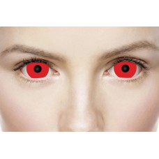 Xtreme Eyez Lens 1 Day Satanic Red