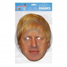 Boris Johnson Card Mask