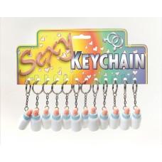 Mini Dicky Bottle Keyring