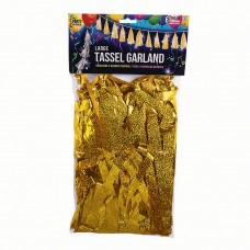Balloon Tassels Large Gold Holographic