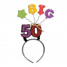 Birthday Big One Headband 50