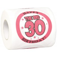 Birthday Toilet Paper 30 Mask