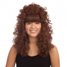 Curly Long Ginger Wig - Box